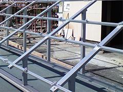 Конструкции за фотоволтаични централи на хоризонтални покриви