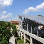 24kW Соларна централа на единична конструкция снимка 21