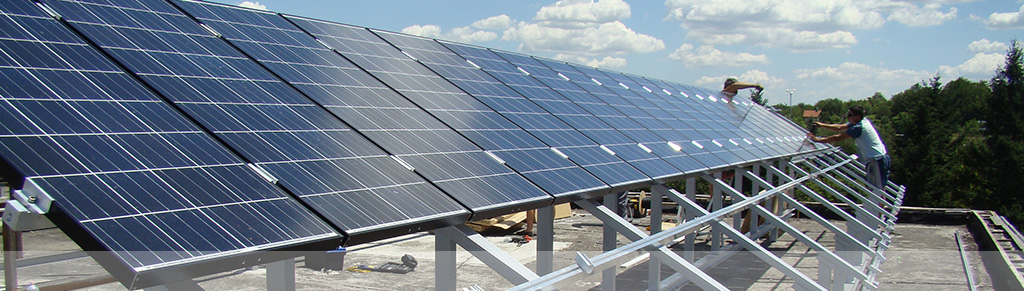 Изграждане на слънчеви централи