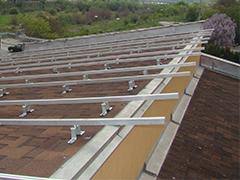 Конструкции за фотоволтаични централи на наклонени покриви