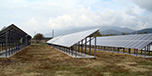 63kW Ground mounted solar power plant