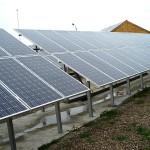 96kW Соларна централа на земя снимка 7