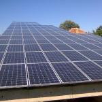 24kW Соларна централа на единична конструкция снимка 1