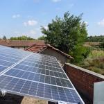 24kW Соларна централа на единична конструкция снимка 3