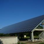 63kW Соларна централа на единична конструкция снимка 2